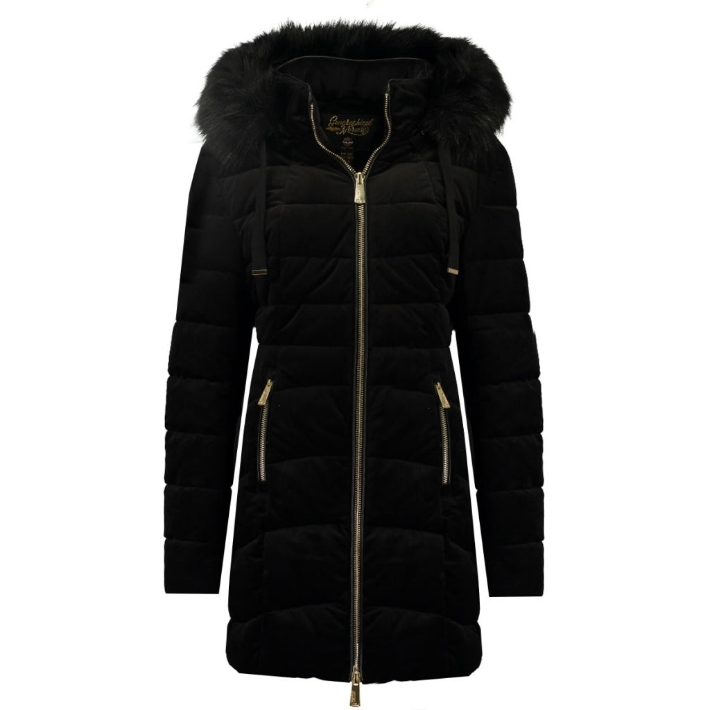 Image of   Geographical Norway Dame Vinterjakke Bilove long - Black - L