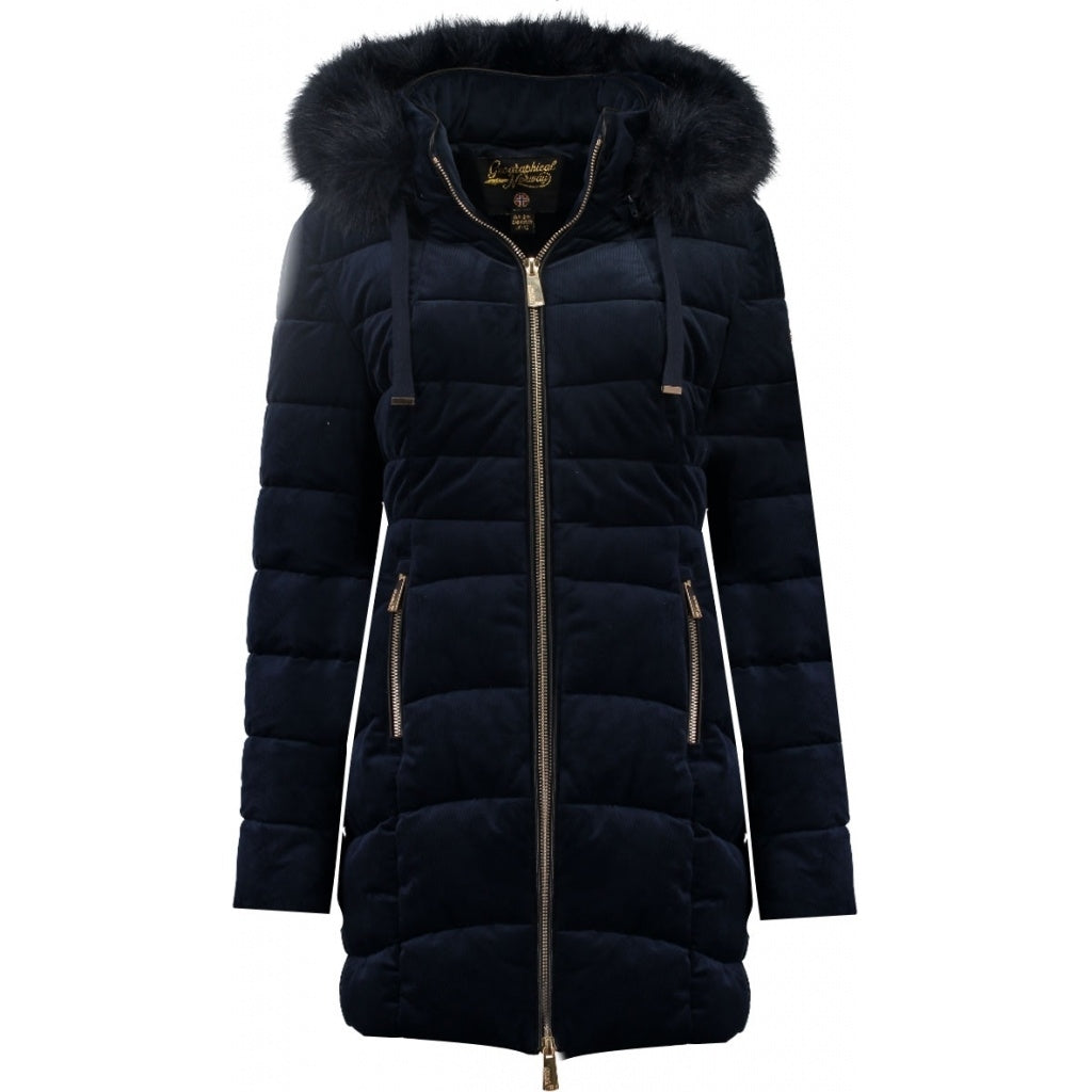 Image of   Geographical Norway Dame Vinterjakke Bilove long - Navy - L