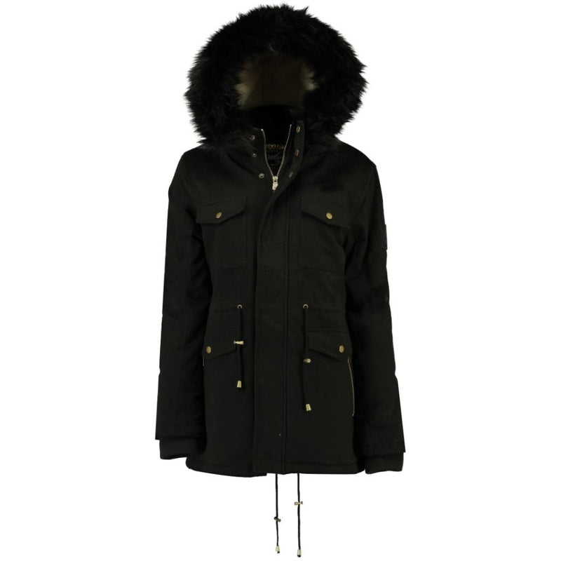 Geographical Norway Geographical Norway Dame Vinterjakke CELESTE Winter jacket Black