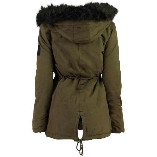 Geographical Norway Geographical Norway Dame Vinterjakke CELESTE Winter jacket Khaki