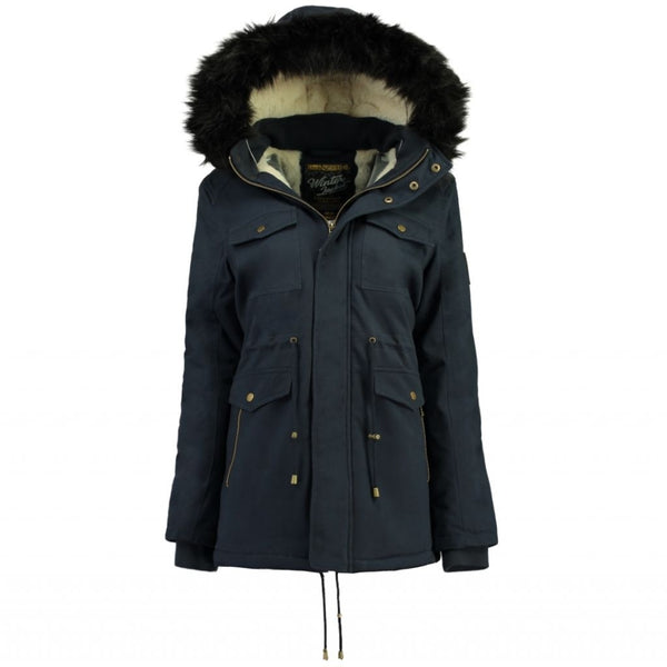 Geographical Norway Geographical Norway Dame Vinterjakke CELESTE Winter jacket Navy