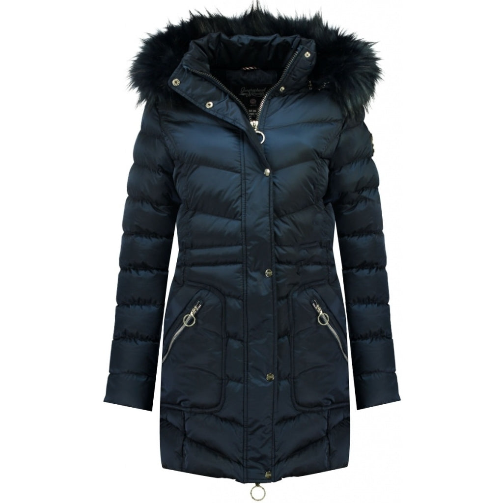 Image of   Geographical Norway Dame Vinterjakke Civil - Navy - L