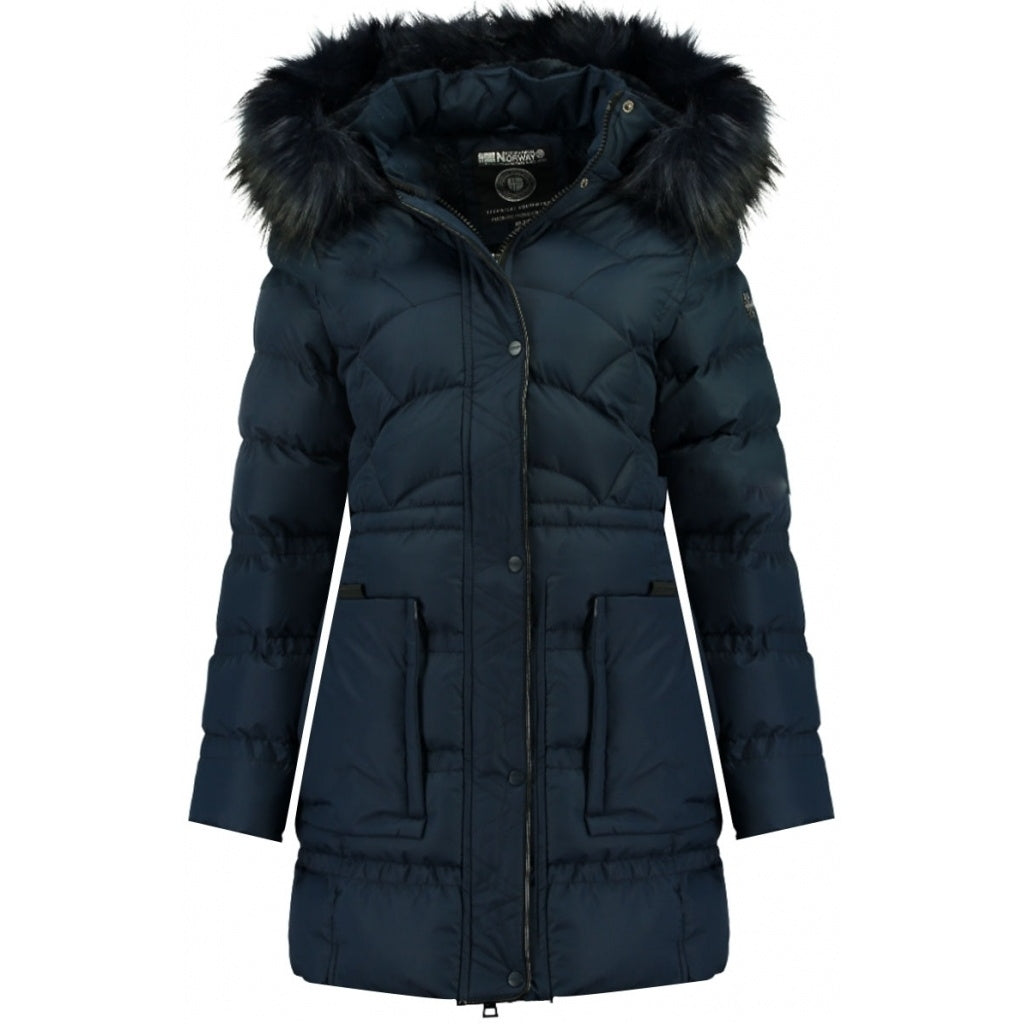 Geographical Norway Dame Vinterjakke Collection - Navy