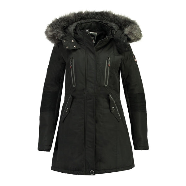 Geographical Norway Geographical Norway Dame Vinterjakke Coraly Winter jacket Black