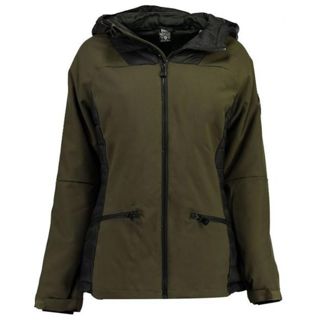 Image of   Geographical Norway Dame jakke Ananas - Khaki - L
