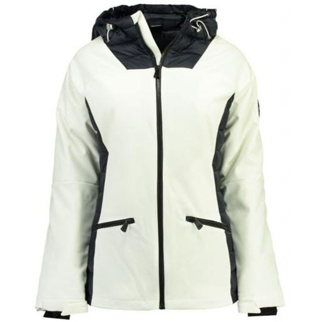 Image of   Geographical Norway Dame jakke Ananas - White