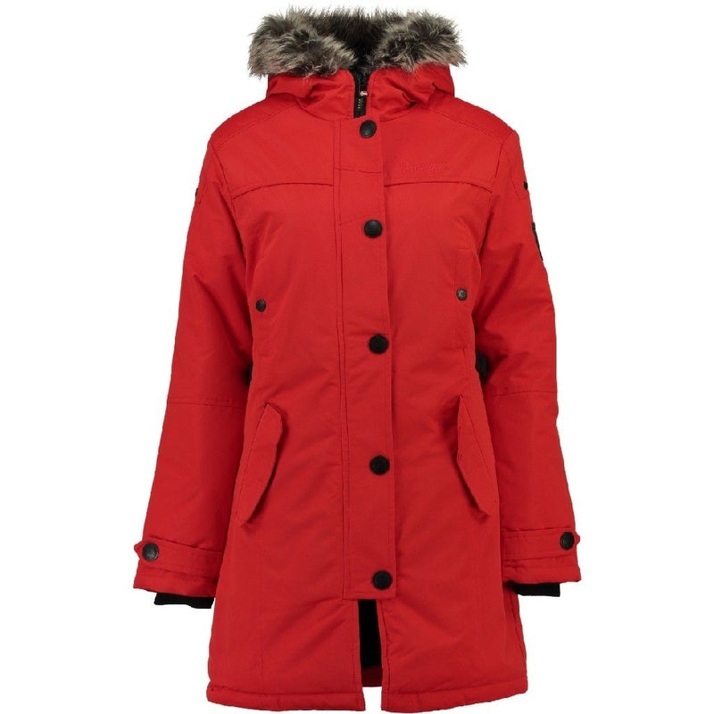 Geographical Norway Geographical Norway Dame vinterjakke Davina Winter jacket Red
