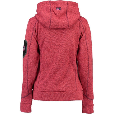 Geographical Norway Dame Fleece Jakke Telectra - Coral