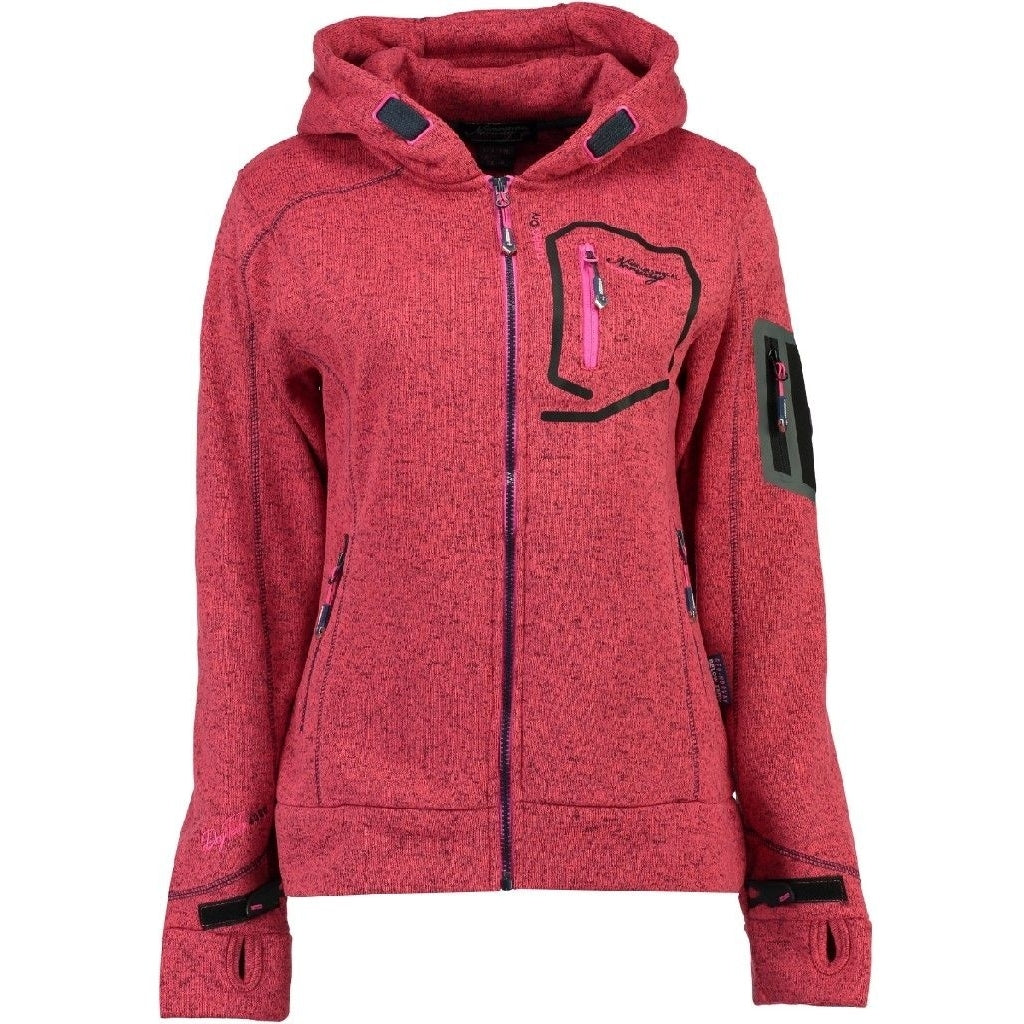 Image of   Geographical Norway Dame Fleece Jakke Telectra - Coral