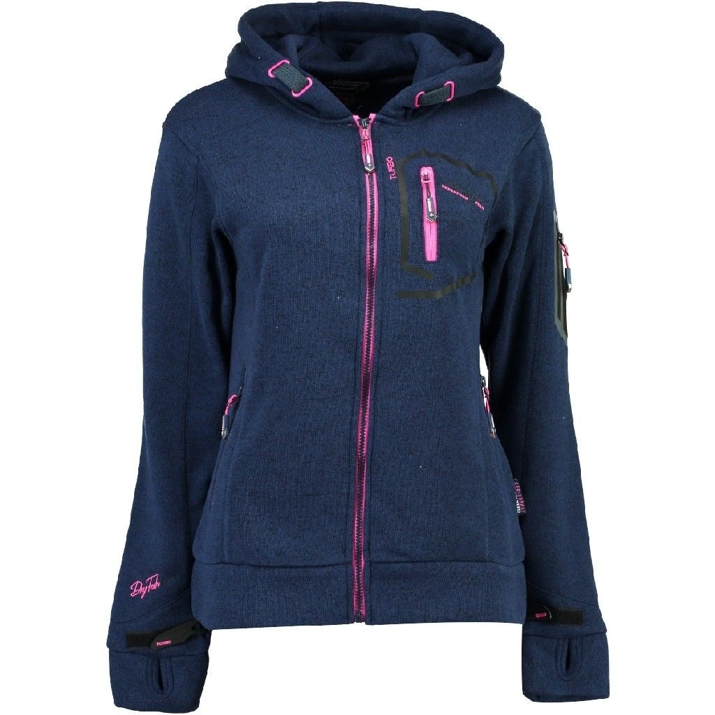 Image of   Geographical Norway Dame Fleece Jakke Telectra - Navy - M