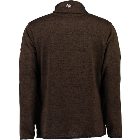 Geographical Norway Herre Fleece Jakke TrøjeTimon - D. Brown
