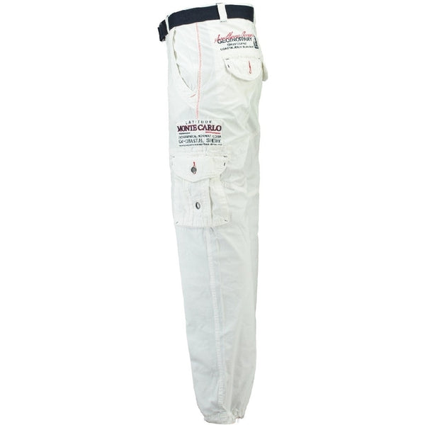 Geographical Norway Geographical Norway Herre Bukser Poudre Pant White