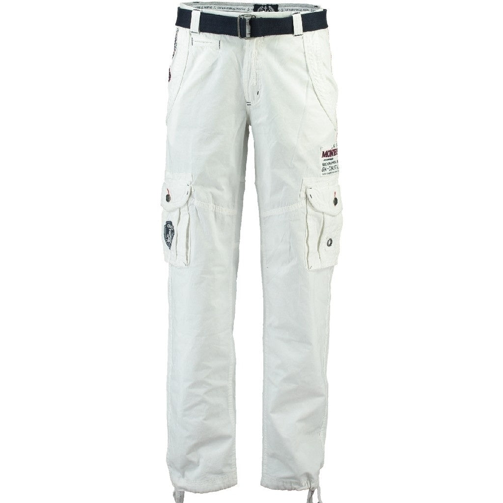 Geographical Norway Herre Bukser Poudre - White