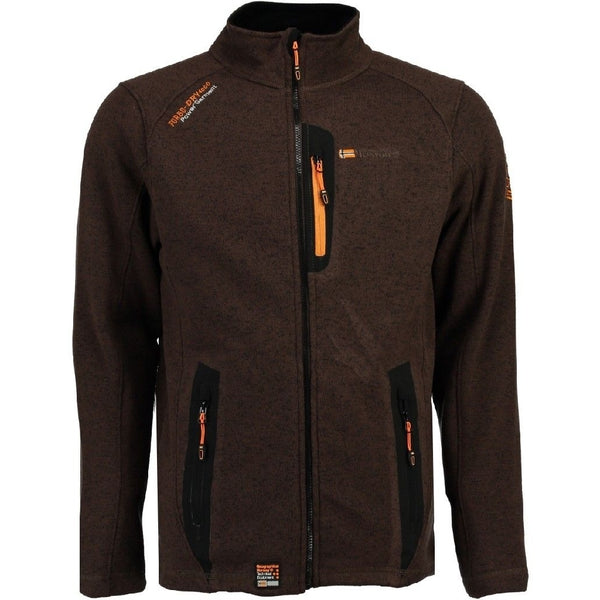 Geographical Norway Geographical Norway Herre Fleece Jakke Tazzer Fleece Brown