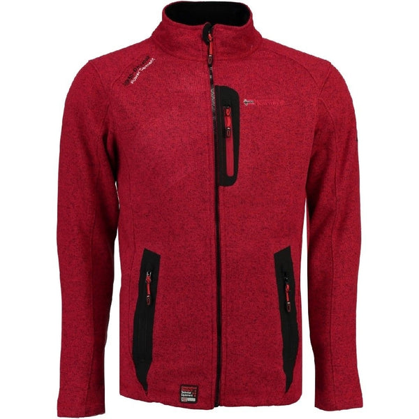 Geographical Norway Geographical Norway Herre Fleece Jakke Tazzer Fleece Red