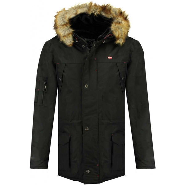 Geographical Norway Geographical Norway Herre Vinterjakke Abiosaure Winter jacket Black