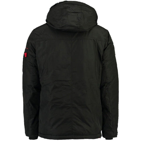Geographical Norway Herre Vinterjakke Candidat - Black