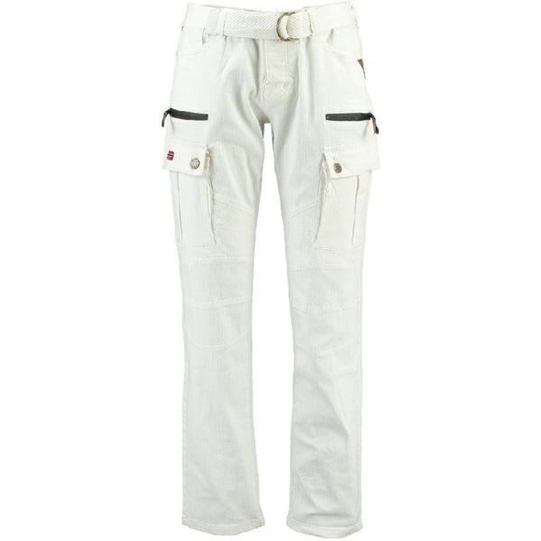 Geographical Norway Geographical Norway Pant Pologne Pant White