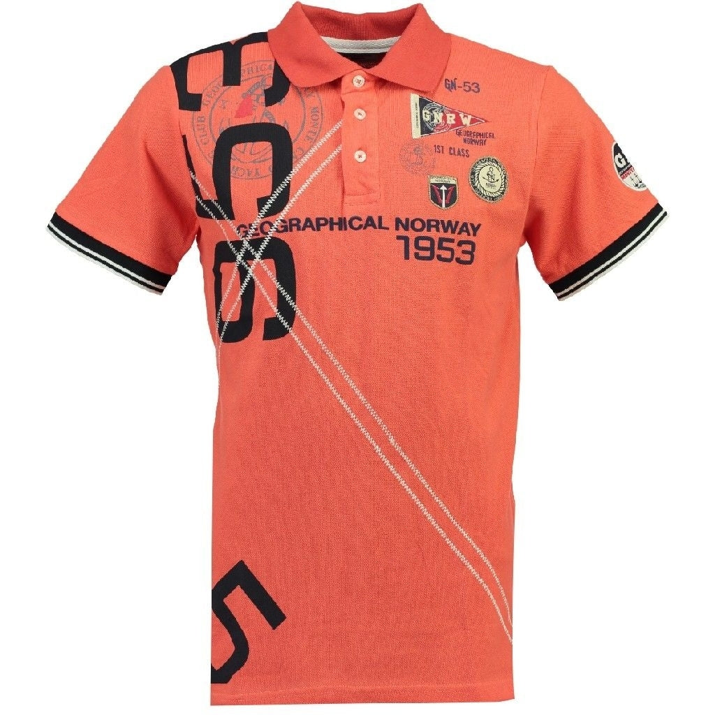 Geographical Norway Polo Killian - Coral