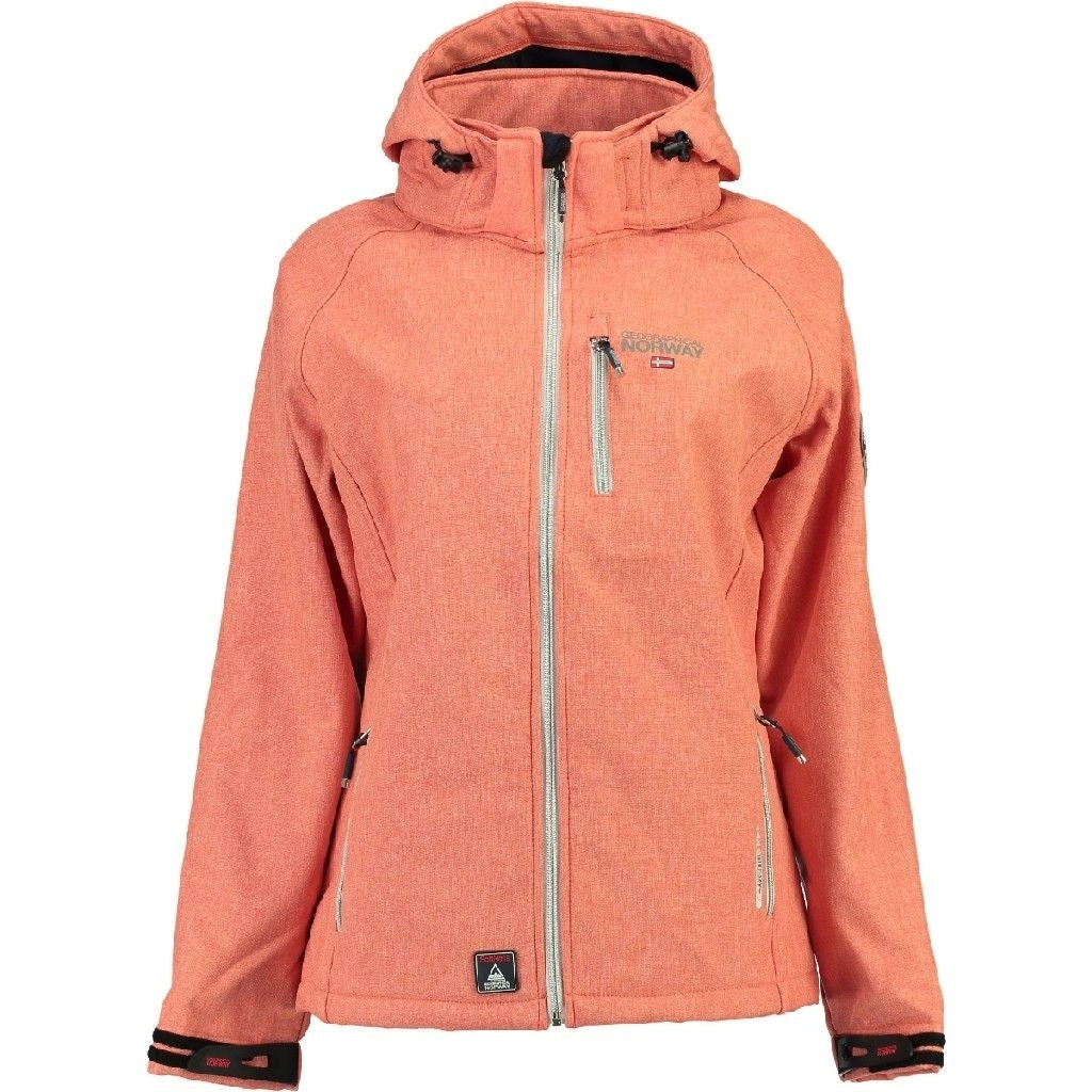 Image of   Geographical Norway Dame Softshell Jakke Tassima - Coral - M