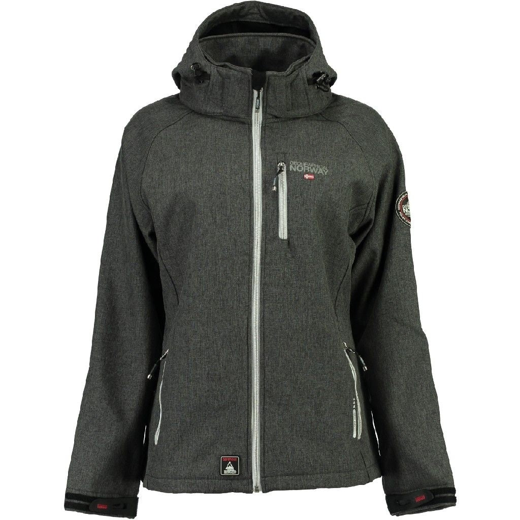 Image of   Geographical Norway Dame Softshell Jakke Tassima - D.Grey - XL