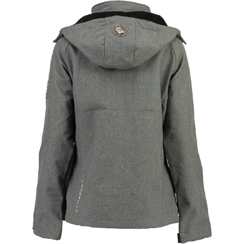 Geographical Norway Dame Softshell Jakke Tassima - Grey
