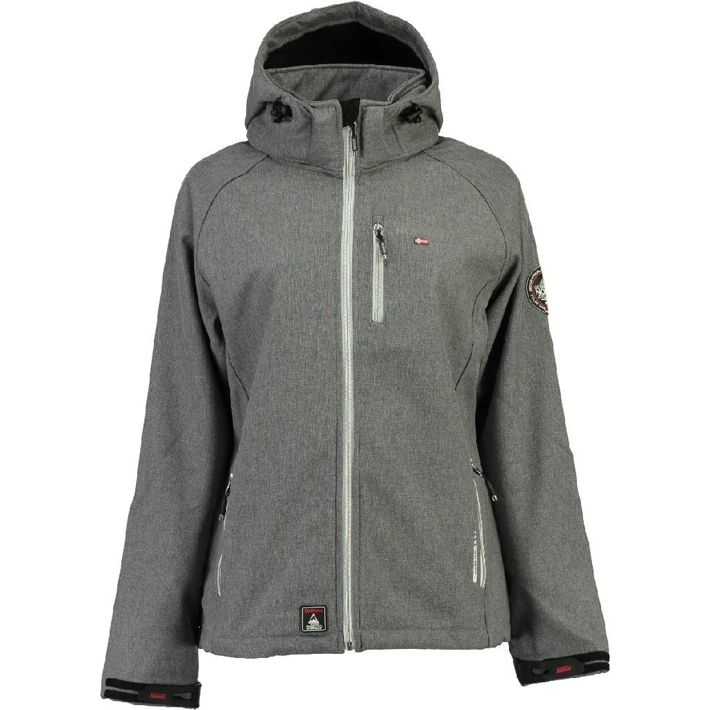 Image of   Geographical Norway Dame Softshell Jakke Tassima - Grey - L