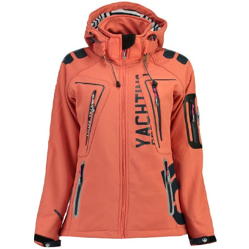 Image of   Geographical Norway Dame Softshell Jakke Tibiscuit - Coral - XXL