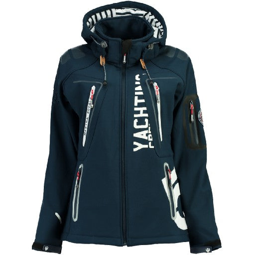 Image of   Geographical Norway Dame Softshell Jakke Tibiscuit - Navy - M