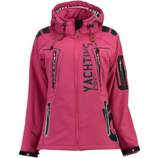 Geographical Norway Dame Softshell Jakke Tibiscuit Pink