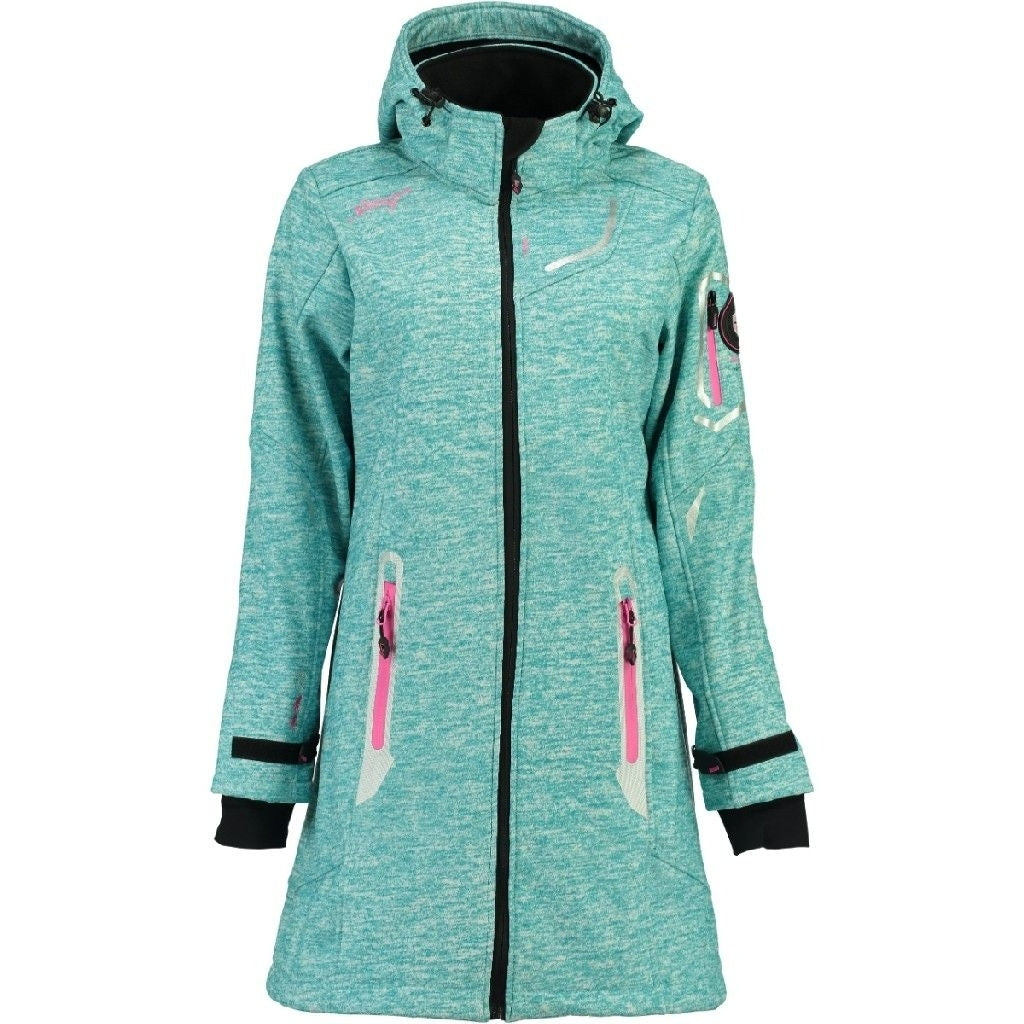 Image of   Geographical Norway Dame Softshell Jakke Timael - Blue - XXL