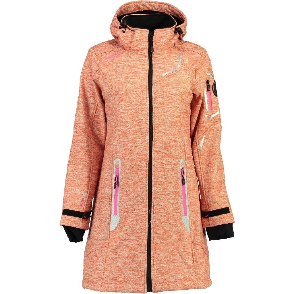Image of   Geographical Norway Dame Softshell Jakke Timael - Coral - L