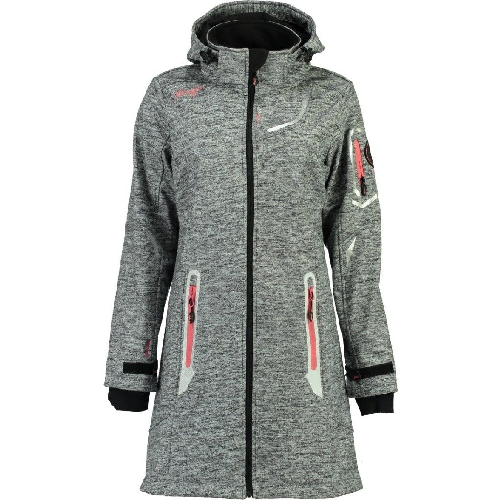 Image of   Geographical Norway Dame Softshell Jakke Timael - D.Grey - XXL