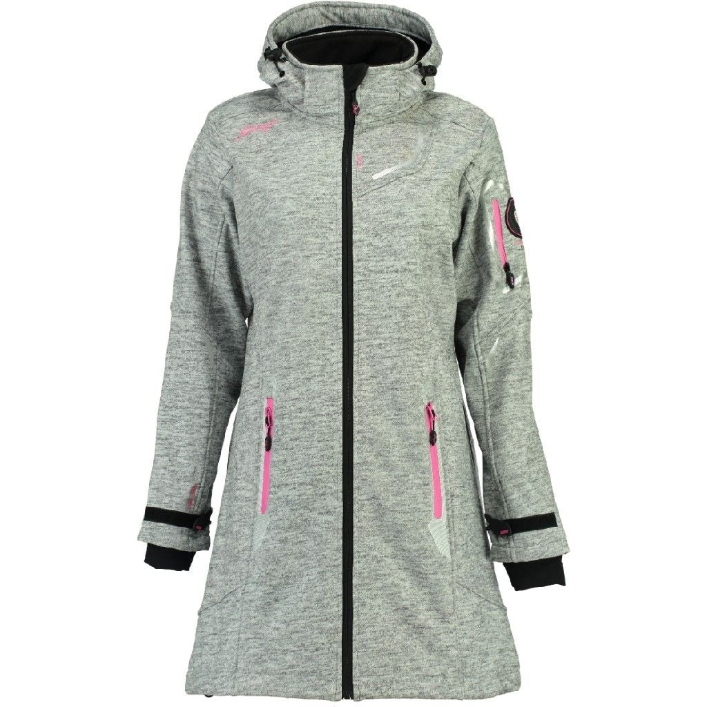 Image of   Geographical Norway Dame Softshell Jakke Timael - Grey - L