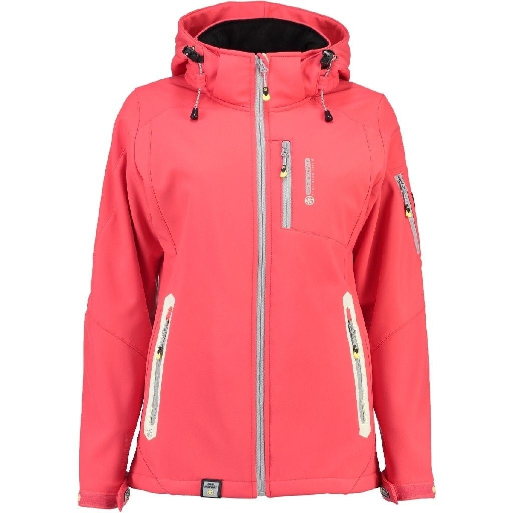 Image of   Geographical Norway Dame Softshell Jakke Tova - Coral