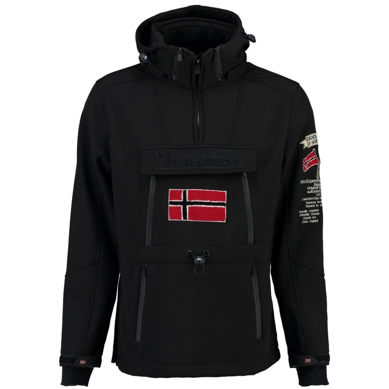 Geographical Norway Geographical Norway Softshell Tuilding Softshell Black