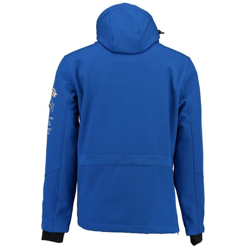 Geographical Norway Herre Anorak Softshell Jakke Tuilding - Blue