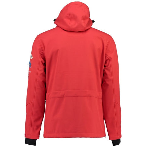 Geographical Norway Herre Anorak Softshell Jakke Tuilding - Red