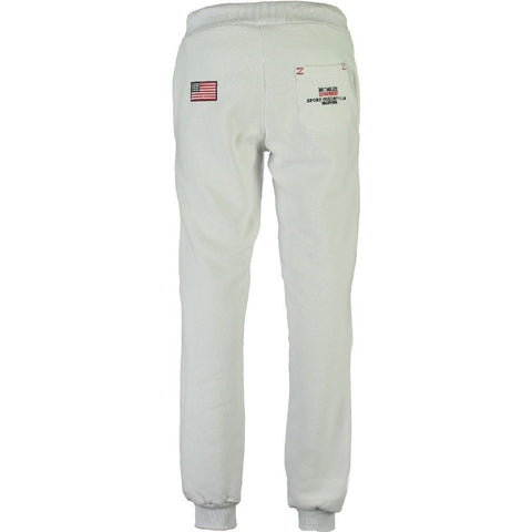 Geographical Norway Sweatpant Mantub - White