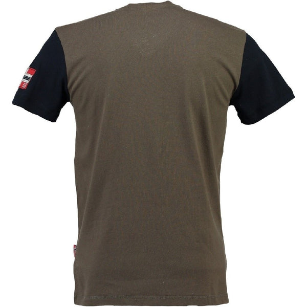 Geographical Norway Geographical Norway T-shirt jarlager T-shirt Khaki