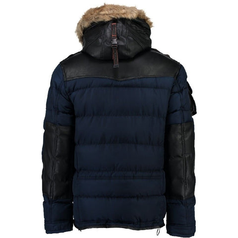 Geographical Norway Herre Vinterjakke Buckleberry - Navy