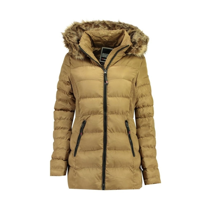 Geographical Norway Geographical Norway Vinterjakke Dame ANIES Winter jacket Beige