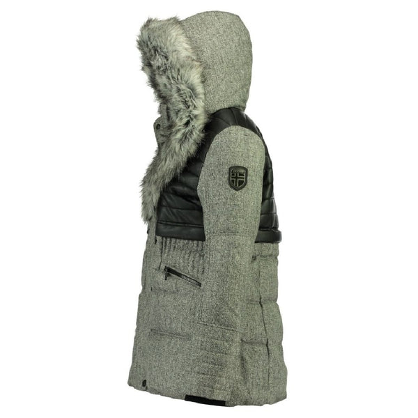 Geographical Norway Geographical Norway Vinterjakke Dame BUNKY Winter jacket Antracite