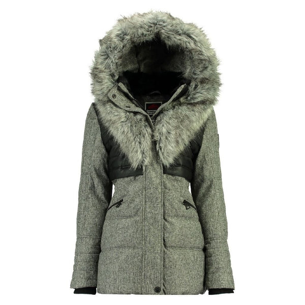 1db58ac2 ... Geographical Norway Geographical Norway Vinterjakke Dame BUNKY Winter  jacket Grey
