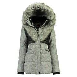 Geographical Norway Geographical Norway Vinterjakke Dame BUNKY Winter jacket Light Grey