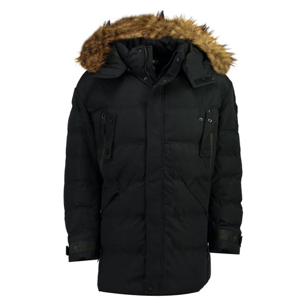 Geographical Norway Geographical Norway Vinterjakke Herre BILBAO Winter jacket Black
