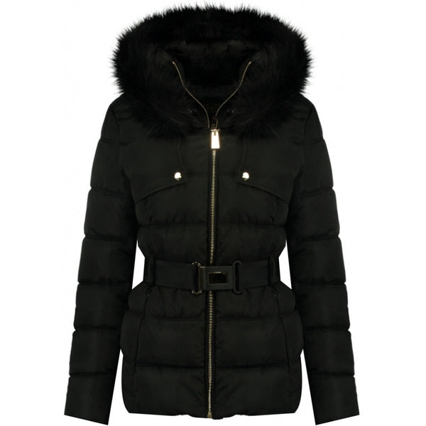 Geographical Norway Geographical Norway dame vinterjakke diamentera short Winter jacket Black