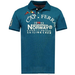 Geographical Norway Geographical Norway herre polo Korsail Polo Blue