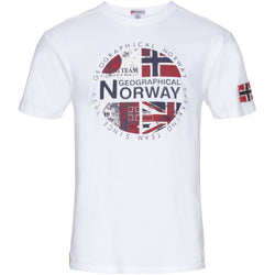 Geographical Norway Geographical Norway herre tee jacha T-shirt White