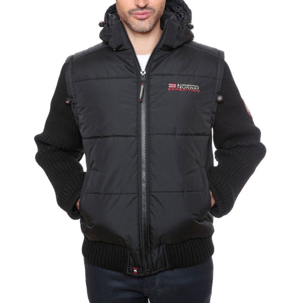 Geographical Norway Geographical Norway vinterjakke Crumberry Vest Black